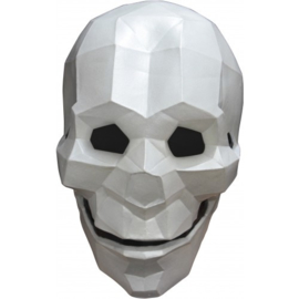 Head Mask Low Poly Skull