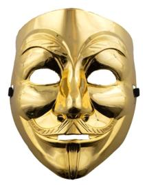 V for Vendetta goud masker