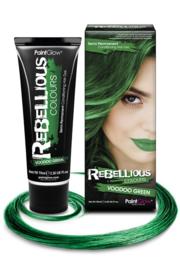 Haarverf semi permanent voodoo green