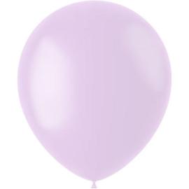 Ballonnen Powder Lilac Mat 33cm - 50 stuks