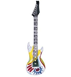 Opblaas rock gitaar funky