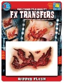Wond opengescheurd 3D FX transfers