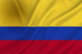 Vlag Colombia 90x150cm