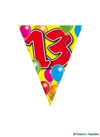 Vlaggenlijn - 13 jaar