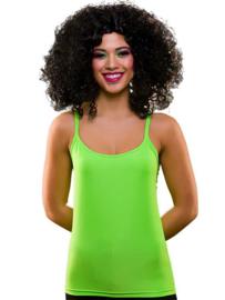 Neon groen topje 80's