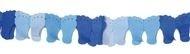 Papierenslinger voet blauw