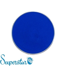 Superstar waterschmink fluor blauw 45 gram
