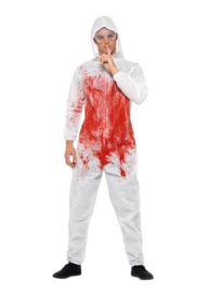 Bloederige CSI overall
