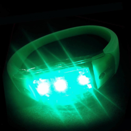 LED armband groen sound activate