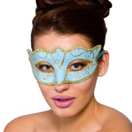 Verona oogmasker blauw