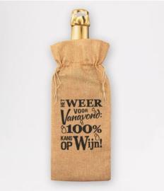 Bottle gift bag - Weersverwachting