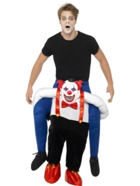 Door Scary clown gedragen kostuum,