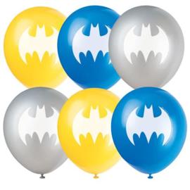 Ballonnen Batman 30cm 8 stuks
