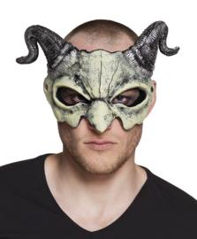 Duivels halfmasker schedel