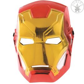 Iron Man 1/2 Metallic masker | Licentie