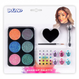 Glamour make up kit | 6 kleuren