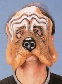 Masker rubber trouwe hondenkop