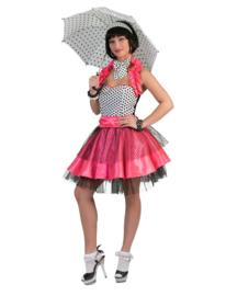 Rock 'n roll jurkje pink