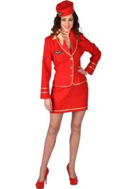 Stewardess kostuum bell air