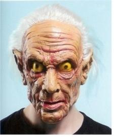 Masker rubber oude enge man