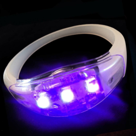 LED armband multi sound activate