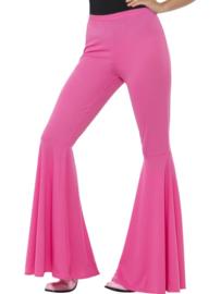 Disco 70`s broek pink