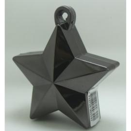 Star ballongewicht metallic zwart