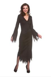 Gothic jurk zwart lang