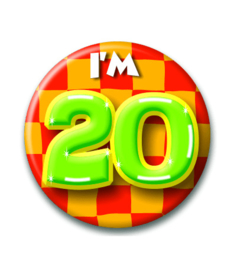 Button 20 jaar