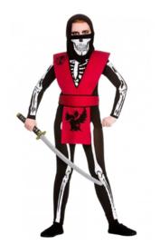 Skeleton ninja kostuum