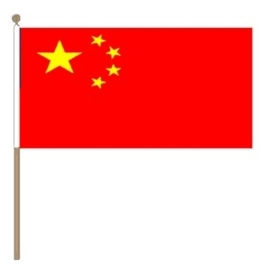 Zwaai vlaggetje China