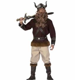 Viking man kostuum deluxe