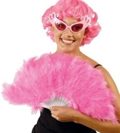 Marabou waaier roze