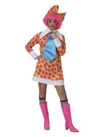 Clown jurkje Ciolina | Vrolijke clowns jurkje