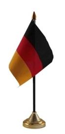 Tafelvlag Duitsland zwart
