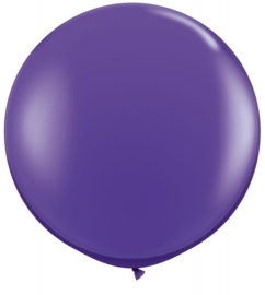 Ballon 90cm purple violet qualatex