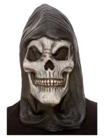 Hooded skeleton masker