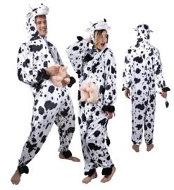 Koeien kostuum plushe
