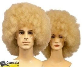 Theaterpruik Afro blond
