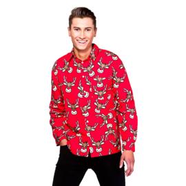 Kerstmis blouse rendieren | Foute kerst blouse