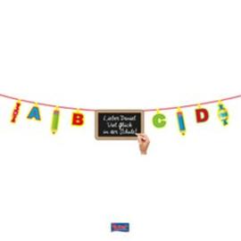 Deco letterslinger schoolbord