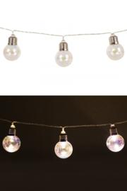 Lichtverlichting snoer 160cm met 10 lampen