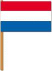 Zwaai vlaggetje Nederland luxe