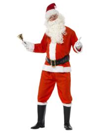 Deluxe kerstmannen kostuum