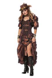Steampunk jurk deluxe