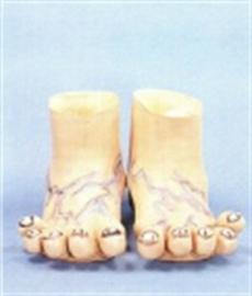 Reuzen voeten