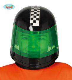 Formule 1 helm kids zwart OP=OP