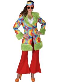 Hippie dames jas batik