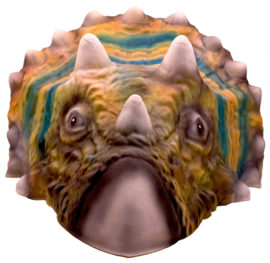 Masker Dinosaurus foam