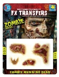 Zombie running dead 3D FX transfers